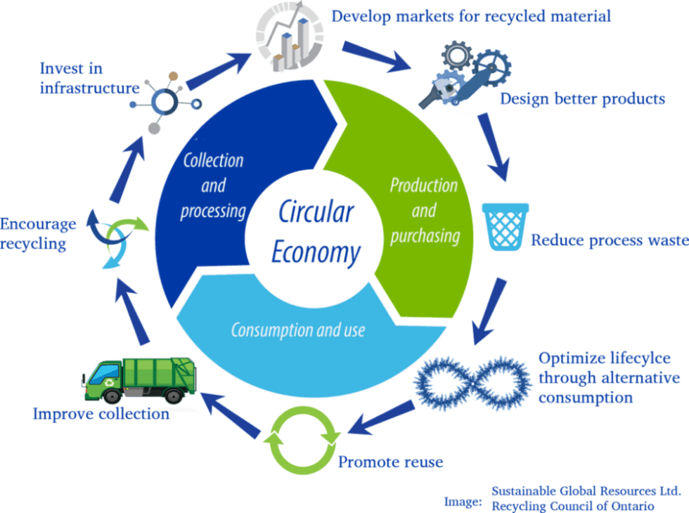 Circular economies and Sustainability